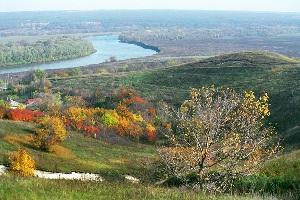 Долина рядом с селом Костёнки, где был найден самый древний скелет предка современных европейцев