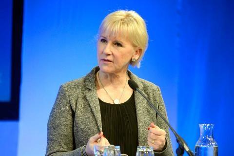 Глава МИД Швеции Маргот Вальстрём