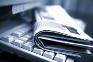 Печатная газета против Интернета