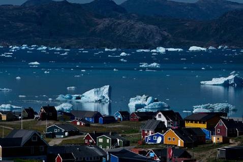 Нуук, столица Гренландии