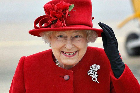 Королева Елизавета II на своем 85-летии