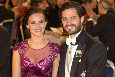 Шведский принц Карл Филипп и София Хеллквист