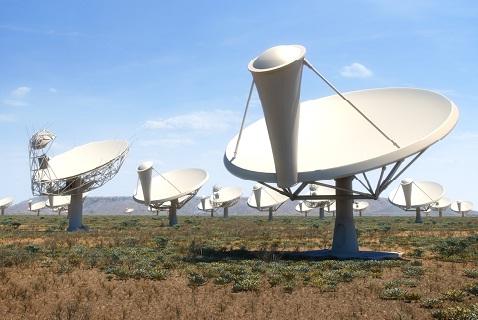 Компьютерная модель приемной станции SKA в Африке