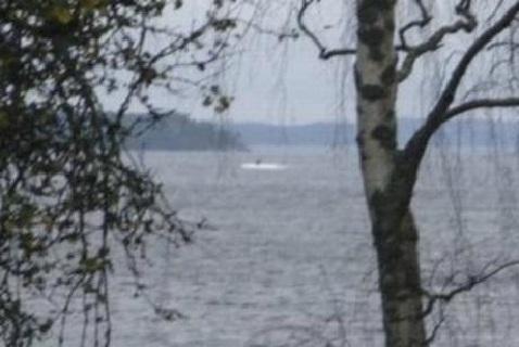 Российская подводная лодка в шведских водах