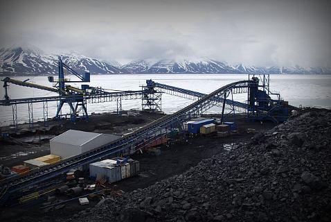 Угольная шахта, Шпицберген