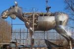 В Осло из Китая прибыла самая большая в мире скульптура лося