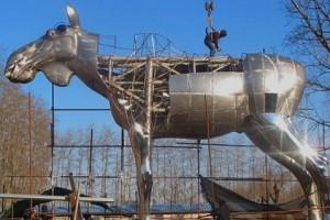 «Большой Лось», сталь, 2015 г., сделано в Китае