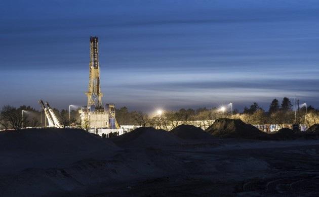 Разработка месторождения сланцевого газа на севере Ютландии компанией Total