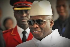 Президент Гамбии Яхья Джамме