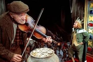 Кадр из фильма «Дарби О'Гилл и маленький народ»