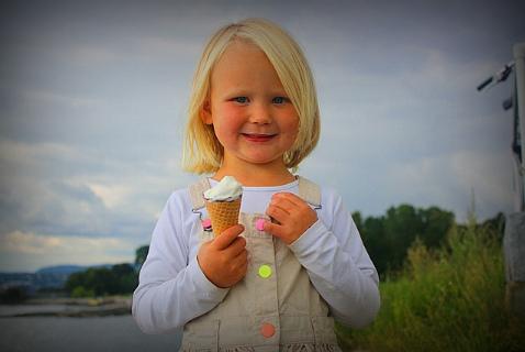 Этой девочке определенно повезло родиться в Норвегии