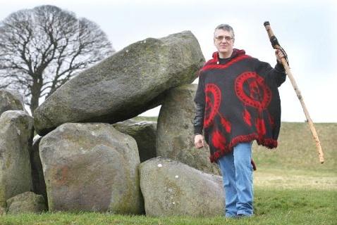 Верховный жрец первой языческой церкви Северной Ирландии Патрик Крэнберри