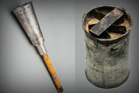Факел XV Летних Олимпийских игр в Хельсинки и горелка