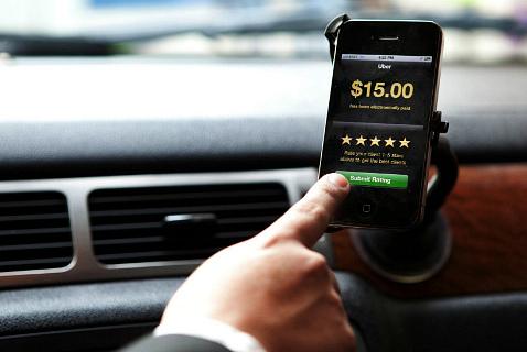 Ассоциация таксистов Лондона в настоящее время судится с Uber из-за правомерности использования смартфонов для вызова такси