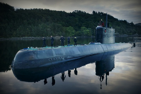 Норвежская субмарина S304 класса «Ула»