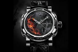 Часы Eyjafjallajokull DNA от Romain Jerome с частицами пепла одного известного своим названием вулкана