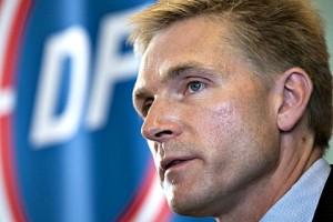Лидер Датской народной партии Кристиан Тулесен Дал