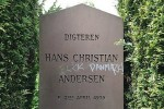 В Копенгагене осквернена могила Ганса Христиана Андерсена