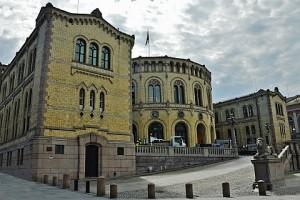 Здание норвежского парламента