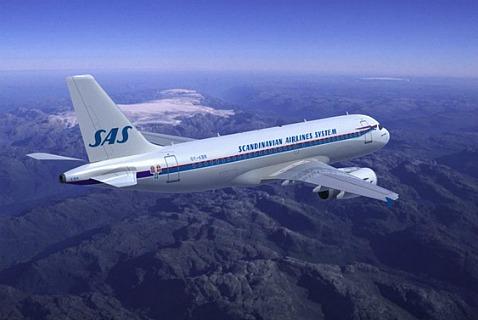 Самолет SAS