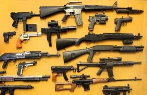Коллекция копий огнестрельного оружия в калифорнийском музее Котати