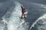 13-летний экстремал пересек пролив из Норвегии в Данию на водных лыжах