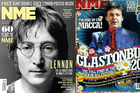Обложки журнала NME