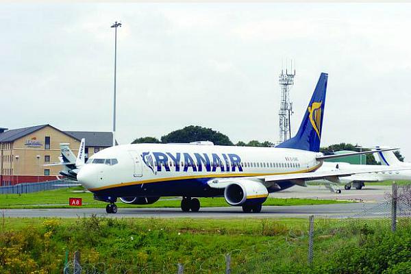 Самолеты Ryanair совершают более 1500 рейсов в сутки (фото)