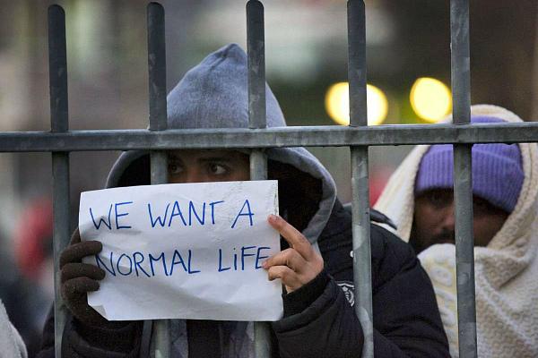 Сомалийские беженцы боятся депортации из Дании (фото)
