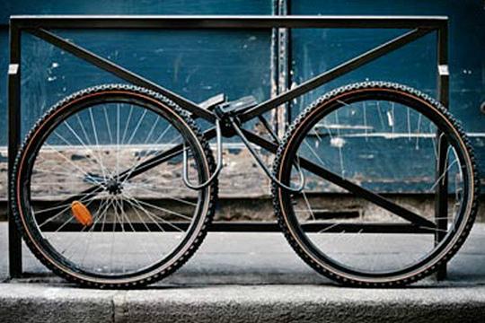 Велосипед без рамы (фото)