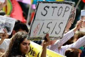 Демонстрация в Малайзии  против Исламского государства (фото)