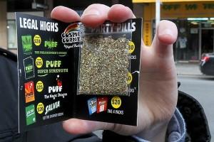 Упакованная синтетическая марихуана (фото)