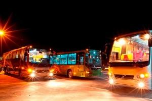 Автобусы Volvo, собранные в Индии (фото)