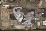 На норвежском фестивале представлена самая большая в мире уличная картина