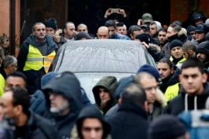 Около 500 человек присутствовало на похоронах копенгагенского стрелка