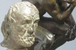 «Человек со сломанным носом» в экспозиции Новой глиптотеки Карлсберга