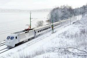 Скоростной поезд шведских железных дорог X 2000