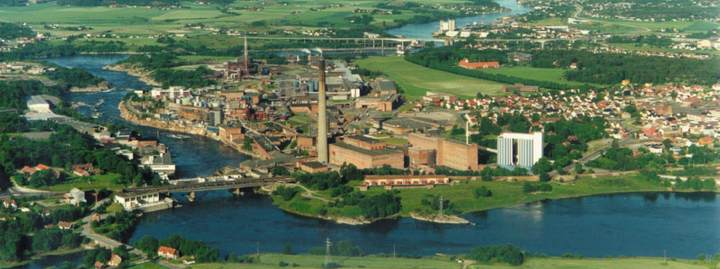 Завод Borregaard в Сарпсборге, где будет выпускаться Sense-Fi