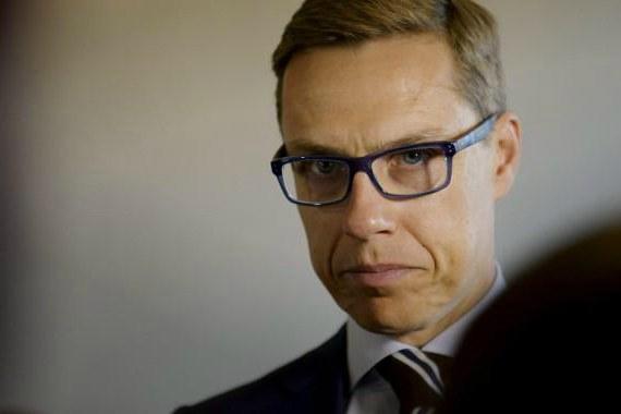 Министр финансов Финляндии Александр Стубб