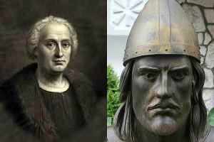 Христофор Колумб и Лейф Эрикссон