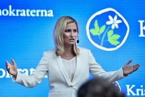 Лидер Христианско-демократической партии Швеции Эбба Буш Тур