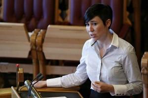 Министр обороны Норвегии Ине Мари Эриксен Сорейде