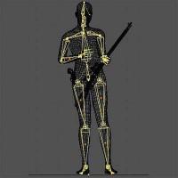 3-D модель фигуры Ли Харви Освальда