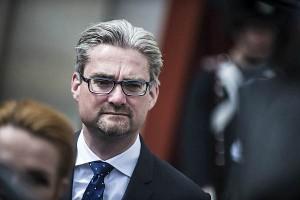 Министр юстиции Дании Сёрен Пинд