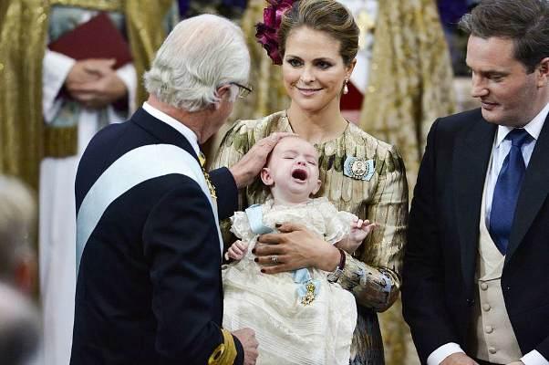 Крещение принца Николаса Пауля Густава