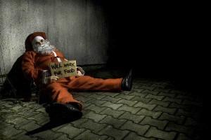 Лапландский Санта-Клаус тоже ищет работу