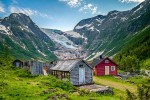 В Норвегии растаяли четыре ледника