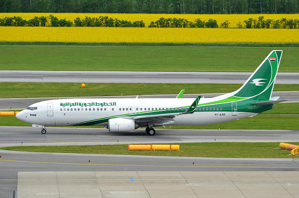 Boeing 737-800 авиакомпании Iraqi Airways