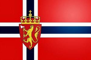 Флаг и герб Норвегии
