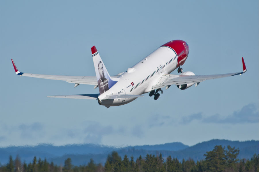 Самолет Norwegian Air